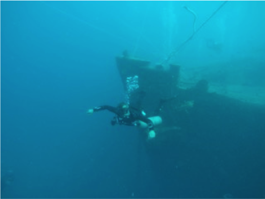 egypt Famous Wreck
