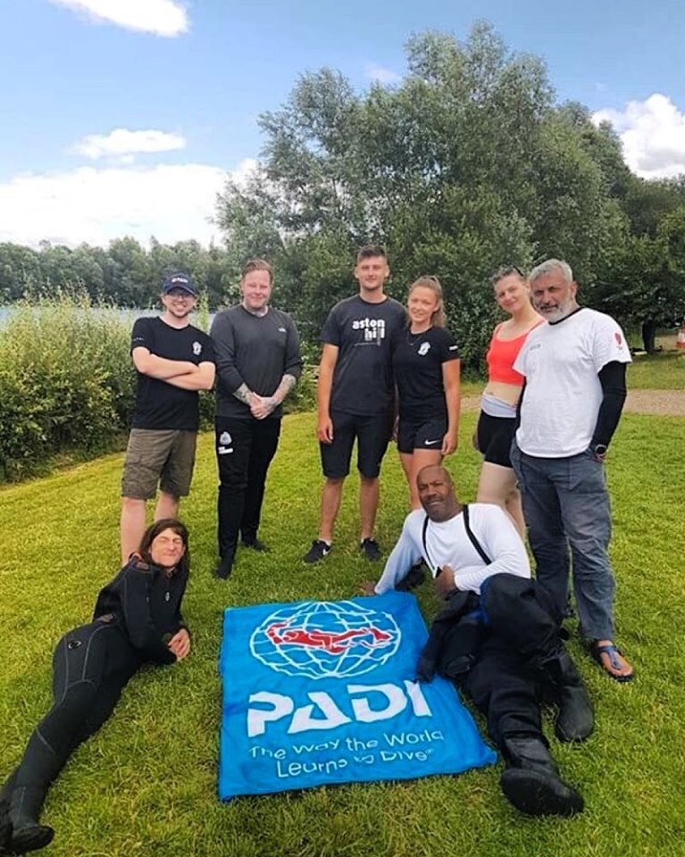 40 Habs boys successfully complete 'Open Water Divers' training